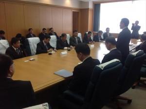 神奈川県知事表敬訪問 (神奈川県庁)
